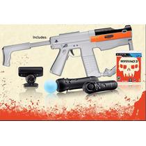 Ps3 Pistola Completa + Juego (acepto Mercado Pago Y Oxxo)