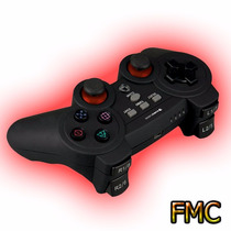 Control Gamepad Eurocase Ps2 Ps3 Pc Usb Vibrador Juego Game