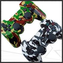 Control Inalambrico Ps3 Vibración Camo Camuflaje Dualshock3