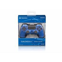 Control Sony Dualshock 4 Azul - Ps4 Fgk Msi