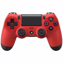 Sony Dualshock 4 Control Inalambrico Color Rojo - Ps4