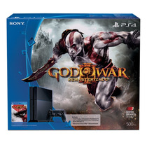 Playstation 4 Ps4 500gb Con God Of War 3 Remasterizado A Msi