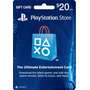 Tarjeta Psn Card (playstation Network) Americana,$20 Dolares