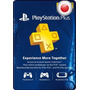 Tarjeta Gift Card Playstation Network Plus Japon 3 Meses Ps4