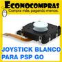 Joystick Analogo Blanco Con Tapa Para Psp Go 100%nueva!!!!!!