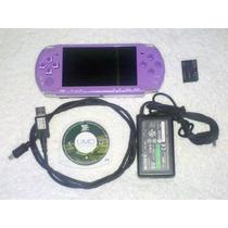 Psp Slim Lilac Purple 3001 Completo + Juego Oportunidad...!!