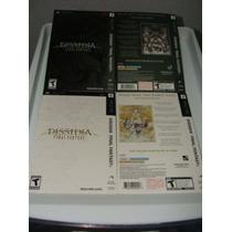 Protector De La Caja Final Fantasy Dissidia Blanco Y Negro