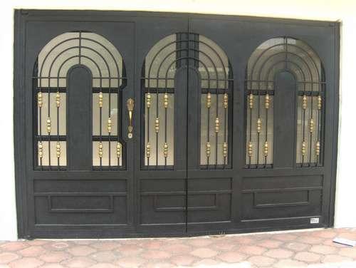 Puerta California De Herreria Rustica Fina