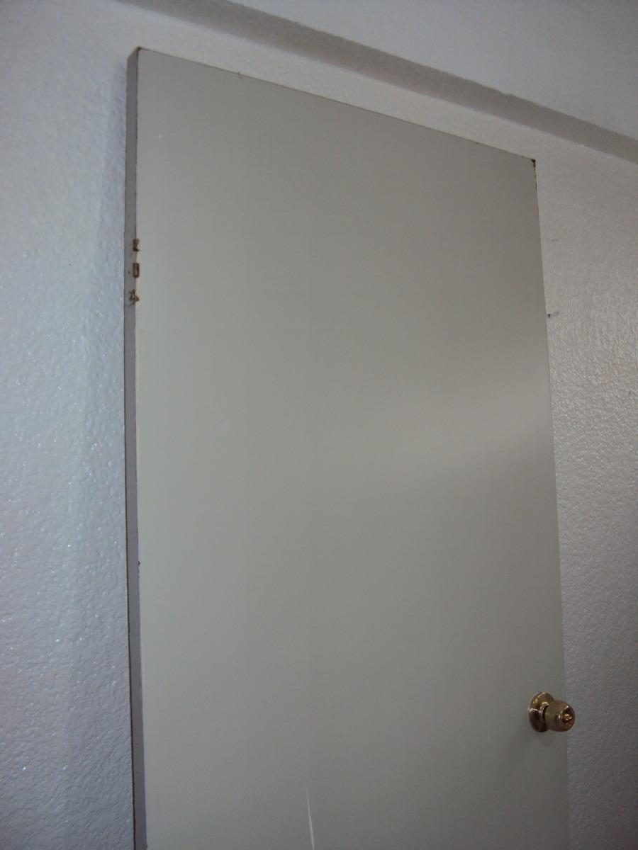 Puerta de madera color blanco 1 en mercadolibre - Puertas en blanco ...