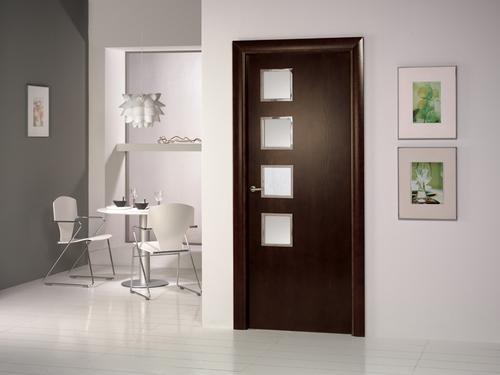 Puertas cl set y cocinas en madera puertas modernas for Puertas de madera interiores modernas