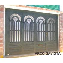 Puerta Arco Gaviota De Herreria Rustica Fina
