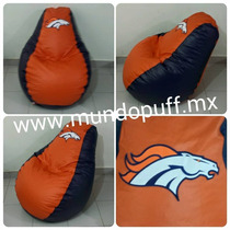 Puff Pera De Broncos De Denver