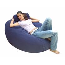 Sillón Puff Freedom En Peluche Bed Confort