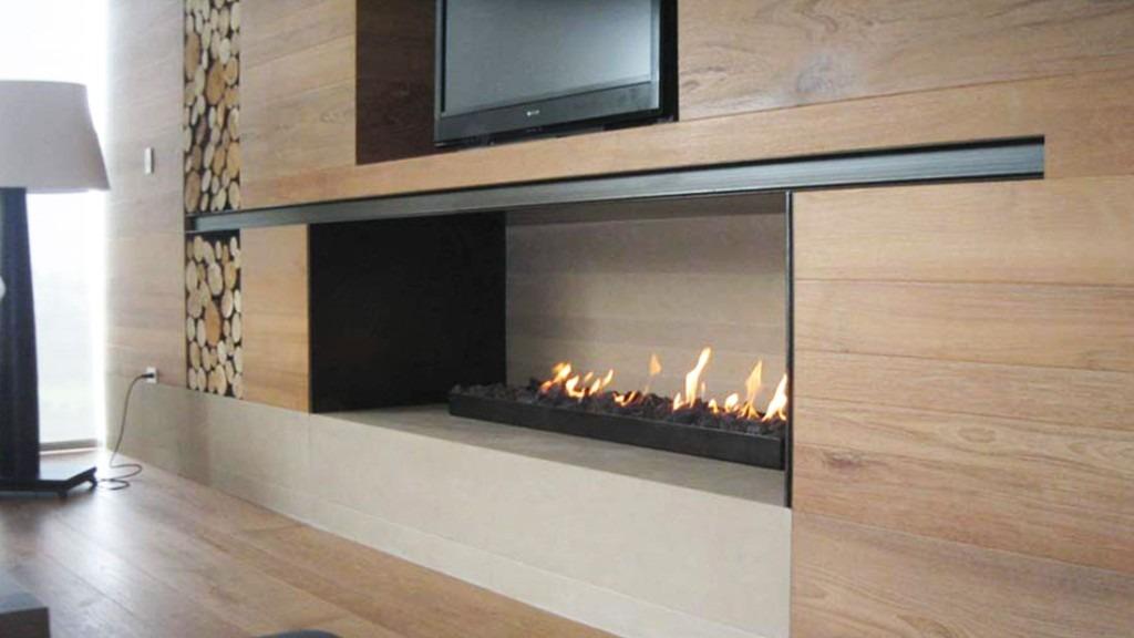 Quemador chimenea gas interior exterior contemporanea 152 - Chimeneas de interior ...