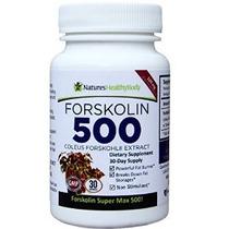 Forskolin 500 Mg De Super Max - La Más Alta Concentración De