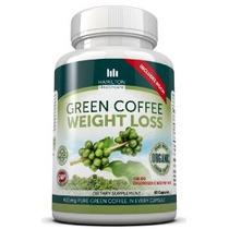 Pérdida Hamilton Salud Organic Green Coffee Bean Peso Suplem