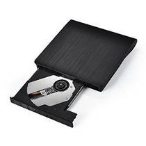 Usb 2.0 Victsing Ultra Portátil Externa Cd Dvd Rw Dvd Rom /