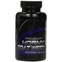 Horny Goat Weed Con Extracto De Raíz De Maca (60 Cápsulas)