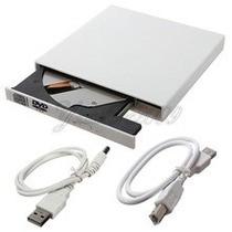 Case Unidad De Dvd Ide Externo 12.7 Mm Usb 2.0 Blanco