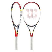 Raqueta Wilson Steam 100 Blx Blade 98 Tennis Tenis Federer