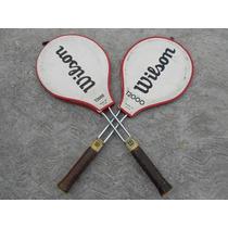 Raqueta De Tenis Vintage Wilson T2000