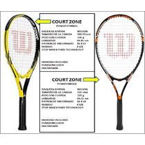 Raquetas Wilson Originales De Tenis Mod. Court Zone
