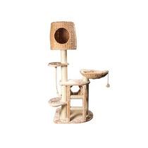 Casa Gato Rascador Y Mitrador Con 5 Niveles Pethouse +kota
