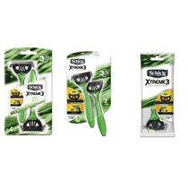 Rastrillo Shick Xtrem3 Paquete De 28 Maquinas 3 Hojas