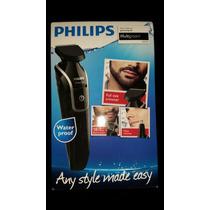 Rasuradora Philips Multigroom Qg3320 Resistente Al Agua Nva