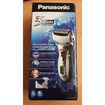 Rasuradora Eléctrica Recargable Panasonic 3 Blade Es-rt51-s