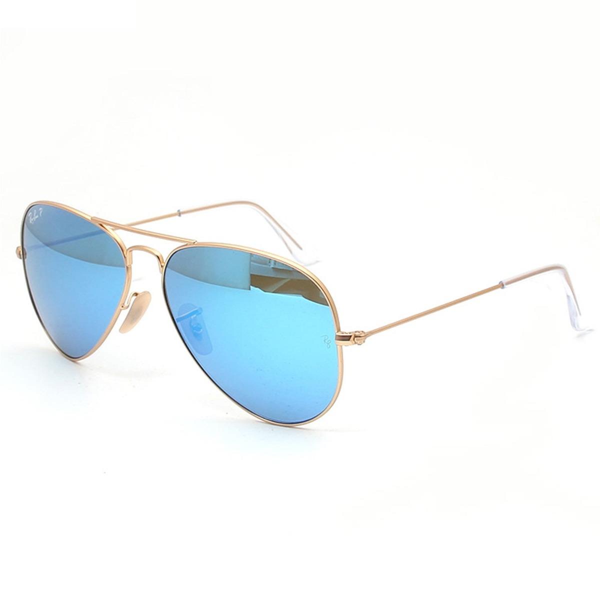 ray ban aviator flash blue