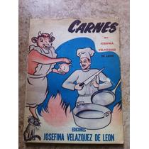 Josefina Velázquez De León ( Recetario Antiguo ) ( 1952 )