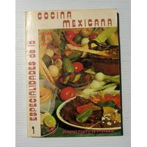 Angeles De La Rosa Especialidades Cocina Mexicana Libro 1978