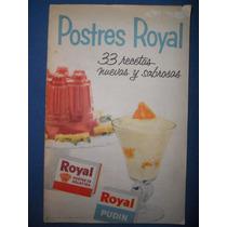 Recetario De Postres Royal