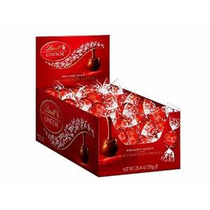 Lindt Lindor Leche Trufas De Chocolate, Caja De 60 Unidades