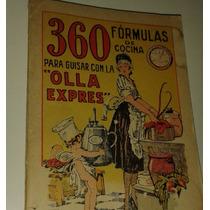 Libro De Cocina Antiguo (para Guisar Con La Olla Expres)