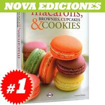 Macarons, Brownies, Cupcakes & Cookies. Nuevo Y Original