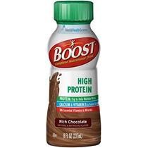 Impulsar Alta Proteína Completa Nutricional Rica Bebida De C