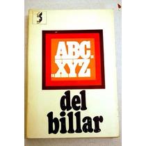 Libro Abc-xyz Del Billar