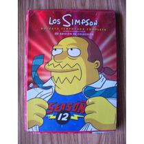 Los Simpson-no Contiene Los Discos,solo-folleto Y Caja-op4