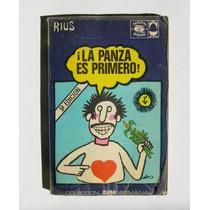Rius La Panza Es Primero Libro Mexicano 1974