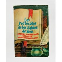 M E. Jouin Protocolos Sabios Libro Mexicano 1980