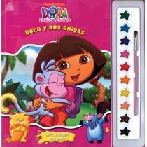 Libro De Posters Para Pintar: Dora La Exploradora