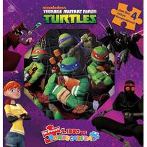 Mi Primer Libro De Rompecabezas: Tortugas Ninja