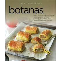 Libros Culinarios: Botanas