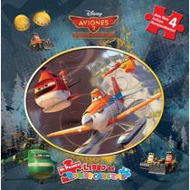 Mi Primer Libro De Rompecabezas: Disney Aviones 2. Equipo De