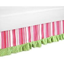 Dulce Jojo Designs Olivia Colección Toddler Bed Falda