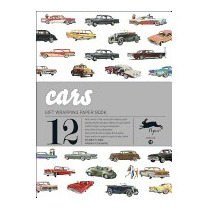 Cars: Gift Wrapping Paper Book Vol.13, Pepin Van Roojen