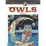 Libro P/colorear Creative Haven Owls Coloring Book