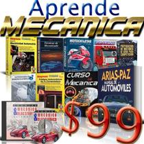 24 Libros Aprende Mecánica Automotriz, Gana Dinero